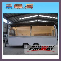 Customizable Food Catering Trailer Mobile Pizza Van