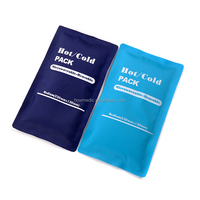 Microwaveable reusable hot cold ice heat gel pack for first aid