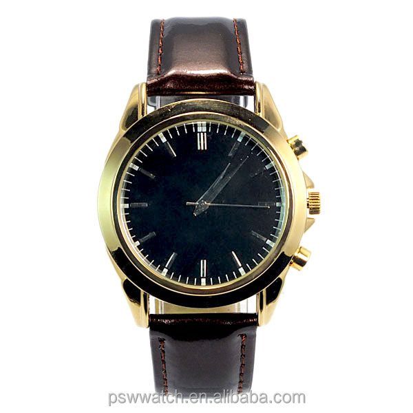 New arrival genuine leather wrist watch fashion quartz watch