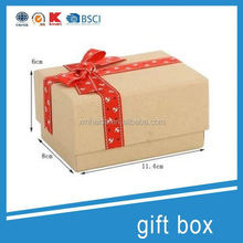 natural recyclable eco-friendly high-end food paper box gift