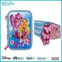 Cute Girl 3 Layers Pencil Case / Pencil Case Brands HASLOR