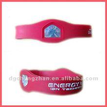 Custom silicone magnetic bracelet 2012