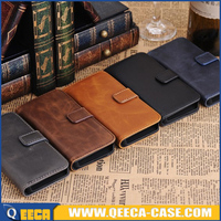 New design flip wallet leather case for samsung galaxy s5 active