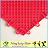 multi sport tennis/ badminton/ basketball court flooring pp interlocking tile
