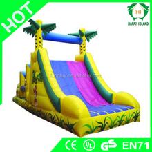 HI inflatable castle slide,giant adult inflatable slide,inflatable tiger slide