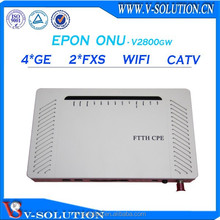 Modem router cpe device fiber optic switch