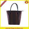 High quality fashion snake skin pattern PU leather tote handbag