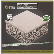 Foam Concrete movable sound proof non-combustible materials restaurant room divider