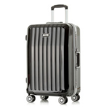 Fashion Design PC+ABS Aluminum Trolley Luggage Cases--FC-6172