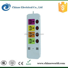 electrical extension plug and socket/ extension cord with multiple socket /multi electrical extension socket