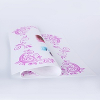 low cost beautiful printing colours 3d silicone table cloth