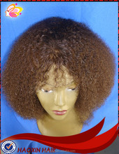 2015 hot sale Brazilian soft silk top afro wigs for black men silk top full lace wig
