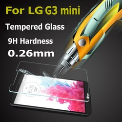 China supplier tempered glass for LG G3 Mini, tempered glass screen protector for LG G3 Mini,