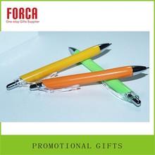 New Gift wholesale Logo cheap ballpoint eco-friendly Plastic pen