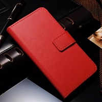 """Hot selling online store genuine leather cell phone case for I phone 6 4.7"""" inch stand wallet with bill site and card slots"""
