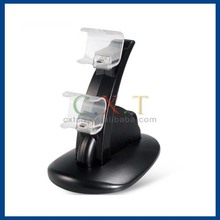 Dual Micro USB Charging Dock Station for XBOX 360 Wireless Controller with Charger Base (Black)