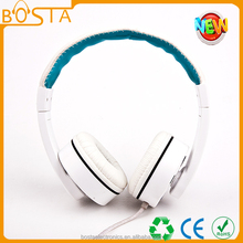 custom class headphone with volume control and hands free