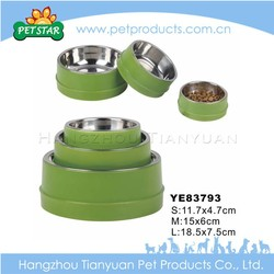 2016 Cheap Wholesale Stainless Steel Dog Bowl