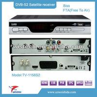 2013 Cheap and good quality Ali3601 DVB-S2 HD satellite receiver,DVB-S2 TV Tuner,hd dvb-s2 mpeg4 digital satellite tv decoder