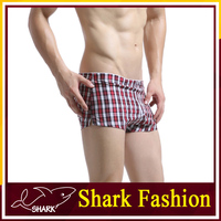 Shark Fashion cotton polyester boxers cheap china wholesale underwear loose boxers