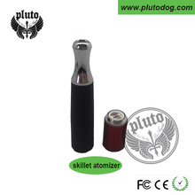 Pluto colorful replacement wax skillet vaporizer 510 wax atomizer spare ceramic coil atomizer