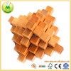 Hot Selling Natural Wooden Interlocking 3D Puzzle Toys