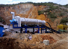 60T/H Movable And Continuous Asphalt Mixing Equipment For Sale