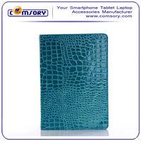 Crocodile Leather Case for iPad Air / iPad 5 Auto Wake/Sleep Function