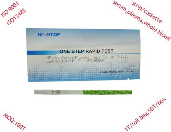 Medical Rapid Test Medical Rapid Test Kits Hbsag