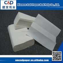2015 Hot Selling Disposable Folded Paper Hand Towel