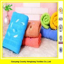 Wholesale luxury custom emboridery cotton towel fabric Promotion