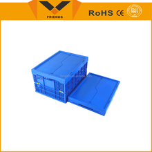 Plastic collapsible storage box/food container/turnover crate