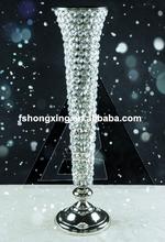 FS38 wedding centerpiece artificial flower ,round acrylic flower stand centerpiece