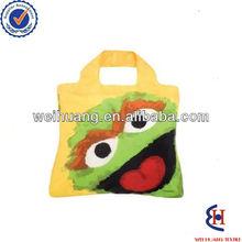Reusable cloth shopping bags animal print bags