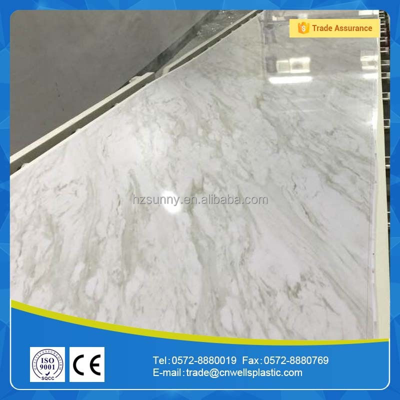 laminated marble design pvc ceiling,pvc wall panel