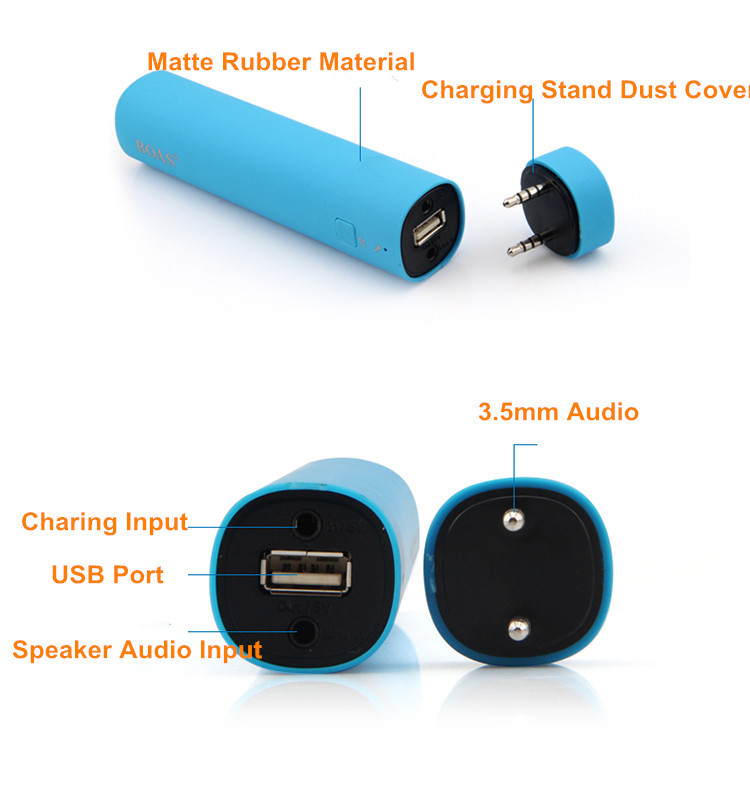Beautiful Power Bank Speaker/ Portable Mobile Power Bank