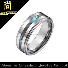2014 wholesale wedding men's tungsten ring