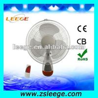 remote control decorative wall mount fans FW40-12R
