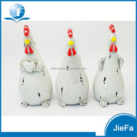 lovely large easter chicken with egg / easter animal for home / garden decorations