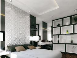 modern house design 3d wallpaper for home decorating
