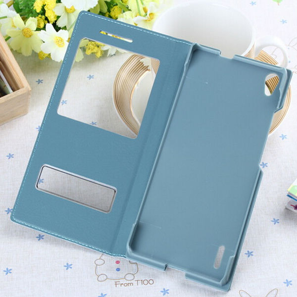 Leather PU Case for Huawei Ascend P7