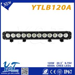 motorcycle black/white led light bar 120w car Round 2inch led driving light