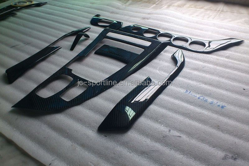 7 pcs set r el fibre de carbone z4 auto int rieur garniture pour bmw z4 e89 10 12 autres. Black Bedroom Furniture Sets. Home Design Ideas