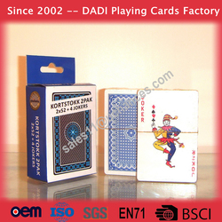 Casino custom made playing cards poker as business gift
