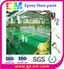Car parking lot water proof concrete epoxy resin flooring painting