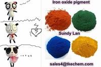 Iron oxide pigment suitable for concrete paver tiles/brick/coating/paint