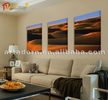 High Quality Beautiful Modern Canvas Painting Decoration Desert Landscape for Home