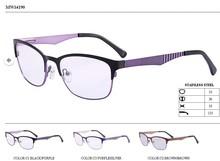 diseños de anteojos de metal marco óptico gafas de china