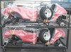 Golf cart, electric, 2 seat, battery powered, aluminum chassis, independent suspension, 2014 new model from Suzhou Eagle , CE
