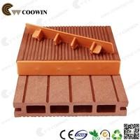 Eco-friendly colorful wood plastic floor trim
